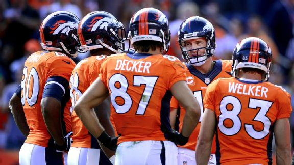 Broncos 4 Horsemen Decker Thomas Welker