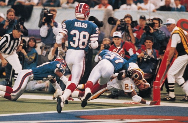 Super Bowl XXVI - Washington Over Buffalo 37-24