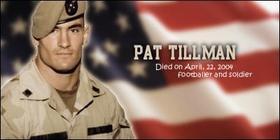 Pat Tillman Tribute