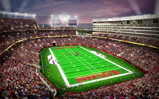 49ers Le Futur Stade Se Nommera Le 171 Levi S Stadium