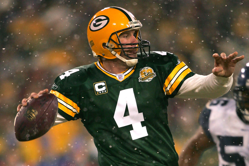 Brett Favre Packers