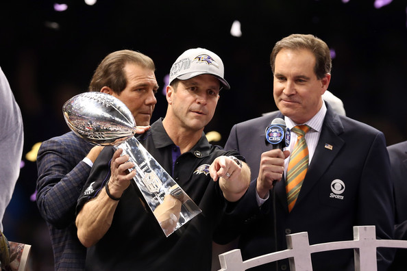 John Harbaugh Super Bowl
