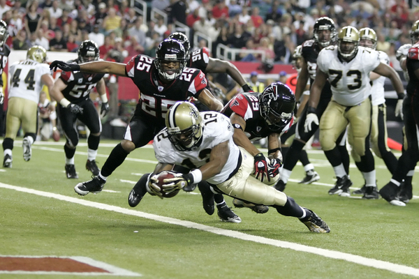 NFL: DEC 10 Saints v Falcons
