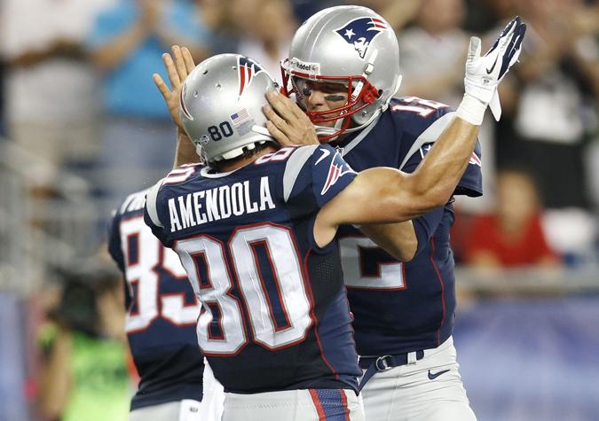 NFL: Preseason-Tampa Bay Buccaneers at New England Patriots