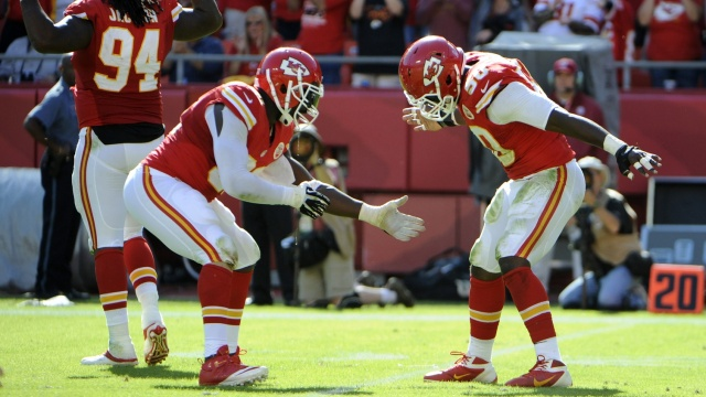 Tamba Hali Justin Houston