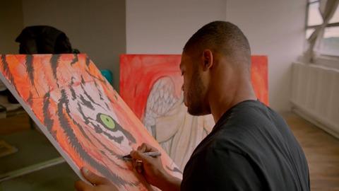 Aaron Maybin Paint