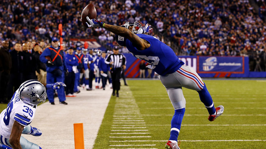 Odell Beckham Catch